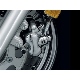 Chrome Kuryakyn Brake Caliper Cover For Kawasaki Suzuki Yamaha