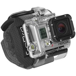GoPro Wrist Housing Kit For Hero3/+ Hero4 Camera Black Clear Black
