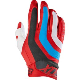 Fox Racing Mens MX Airline Seca Gloves Red