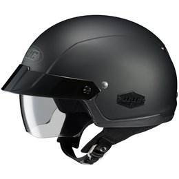 Black Hjc Mens Is-cruiser Matte Half Helmet 2014