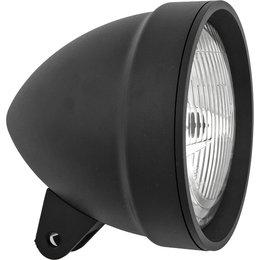 HardDrive Headlight Bullet Style Bolt-Thru Mount 5.75 In For Harley 20-6043BE Black