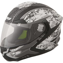 Fly Racing Luxx Camo Full Face Helmet Grey