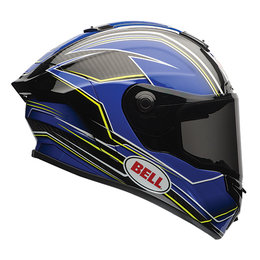 Bell Powersports Race Star Triton Full Face Motorcycle Helmet Blue