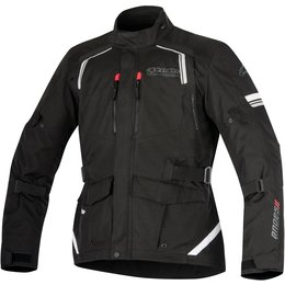Alpinestars Mens Andes V2 Drystar All-Weather Textile Adventure Riding Jacket Black