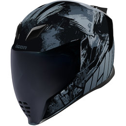 Icon Airflite Stim Full Face Helmet Black