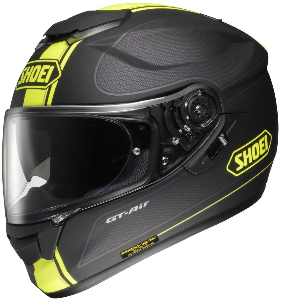 shoei mens gt air wanderer full face helmet 2013. Black Bedroom Furniture Sets. Home Design Ideas
