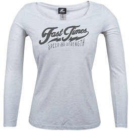 Speed & Strength Womens Fast Times Long Sleeve Scoop Neck T-Shirt