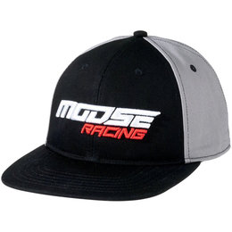 Moose Racing Mens Momentum Flat Bill Snapback Adjustable Hat. Moose Racing  - Hats cfd9f9f076cd