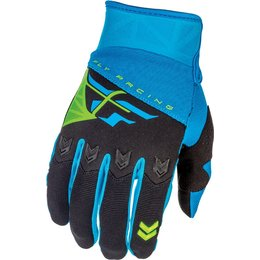 Fly Racing Mens F-16 MX Gloves Blue