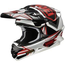 Red Shoei Mens Vfx-w Vfxw Reputation Helmet 2013