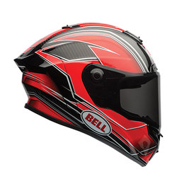 Bell Powersports Race Star Triton Full Face Motorcycle Helmet Red