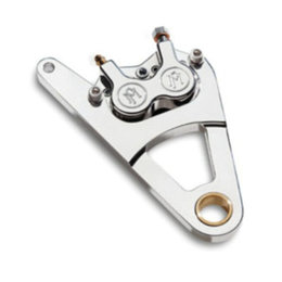 Chrome Performance Machine Front Caliper Dual Disc Chr H-d Fxr Flst Fxd Fxst Xlh Xr1000