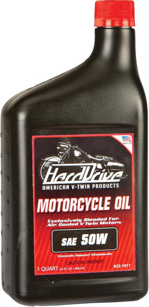 $17 23 HardDrive Single Weight Engine Oil 50 Wt 1 Qt Case #1023017
