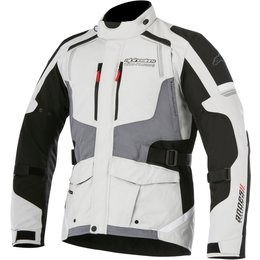 Alpinestars Mens Andes V2 Drystar All-Weather Textile Adventure Riding Jacket Grey
