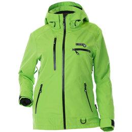 Divas Womens Prizm Waterproof Shell Technical Snowmobile Jacket Green