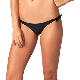 Fox Racing Womens Splash Side Tie Bikini Bottom Black