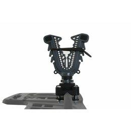 ATV Tek V-Grip Single Bar Gun & Bow Mount For ATV Universal VFGH Unpainted