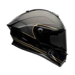 Bell Powersports Race Star Ace Cafe Speed Check Full Face Motorcycle Helmet Black