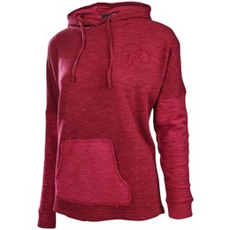 Troy Lee Designs Womens Spokes Polyester Blend Pullover Hoodie Red