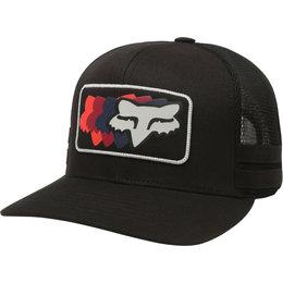 5a29f783e864b Fox Racing Mens 74 Wins Snapback Hat Black
