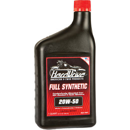 HardDrive Full Synthetic Engine Oil 20W50 1 Qt 12/Case For Harley 2845-042E Unpainted