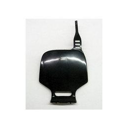 UFO Plastics Front Number Plate Black For Kawasaki KLX110 10-11