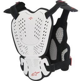 Alpinestars Mens A1 Roost Guard Chest Protector White