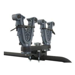 ATV Tek V-Grip Double Rack Gun & Bow Mount For ATV Universal VFG2