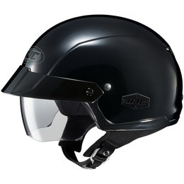 Black Hjc Mens Is-cruiser Half Helmet 2014