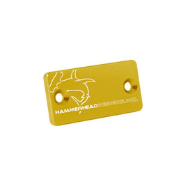 Hammerhead Cap For Front Brake Master Cylinder Gold For Suzuki RM-Z250 RM-Z450