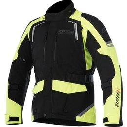 Alpinestars Mens Andes V2 Drystar All-Weather Textile Adventure Riding Jacket Black