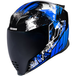 Icon Airflite Stim Full Face Helmet Blue