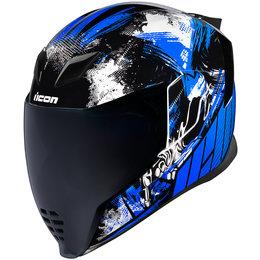 Icon Airflite Stim Full Face Helmet Blue