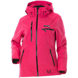 Divas Womens Prizm Waterproof Shell Technical Snowmobile Jacket Pink