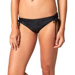 Fox Racing Womens Splash Lace Up Side Tie Bikini Bottom Black