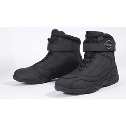 Black Tour Master Womens Response 2.0 Leather Road Boots Us 6.5 Eu 38