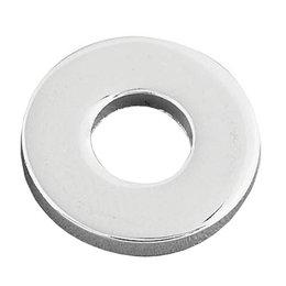 Gardner-Westcott Standard Flat Washers 1/4 Zinc For Harley Unpainted