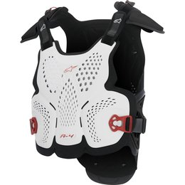Alpinestars Mens A-4 Chest Protector Roost Guard White