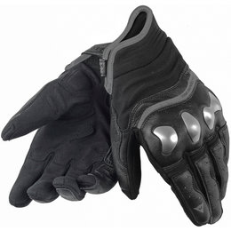 Dainese Mens X-Run Leather Gloves Black