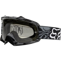 Charcoal Fox Racing Mens Airspc Encore Goggles With Grey Lens 2014