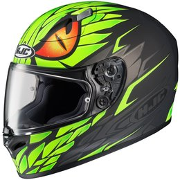 Flat Green Hjc Mens Fg-17 Mamba Full Face Helmet 2014