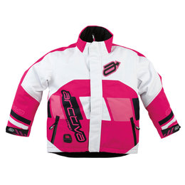 Arctiva Youth Girls Comp Insulated Snowmobile Jacket White