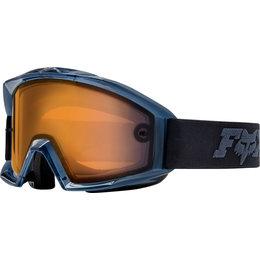 Fox Racing Main Enduro Goggles Black Orange Black