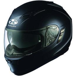Flat Black Kabuto Mens Kamui Full Face Helmet 2014