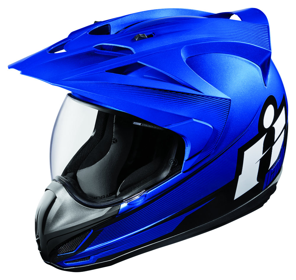 Icon Variant Double Stack Dual Sport Helmet with Visor