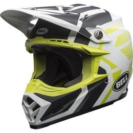 Bell Powersports Moto-9 MIPS District Helmet White