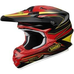 Red Shoei Mens Vfx-w Vfxw Sear Helmet 2013