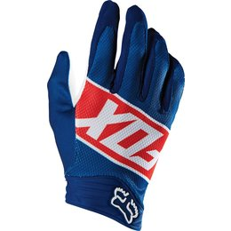 Fox Racing Mens Divizion Airline Mesh Gloves Red