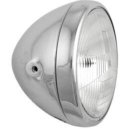 HardDrive Headlight Assembly Side Mount 7 In For Harley-Davidson Chrome 20-6027 Silver