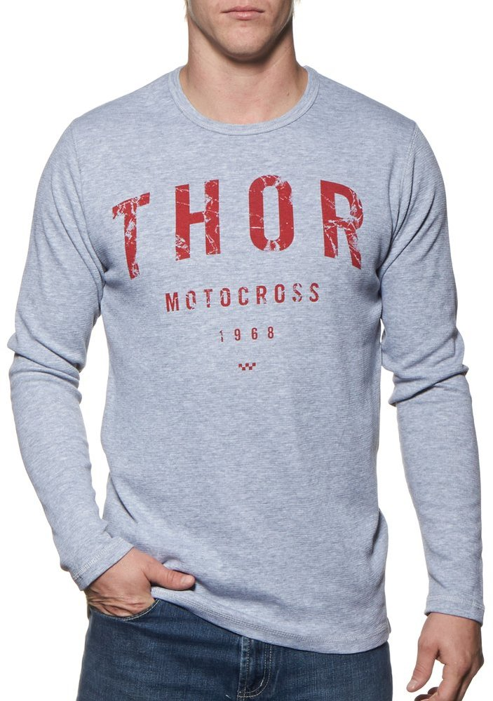 Thor mens shop long sleeve thermal t shirt 228003 for Thermal t shirt long sleeve